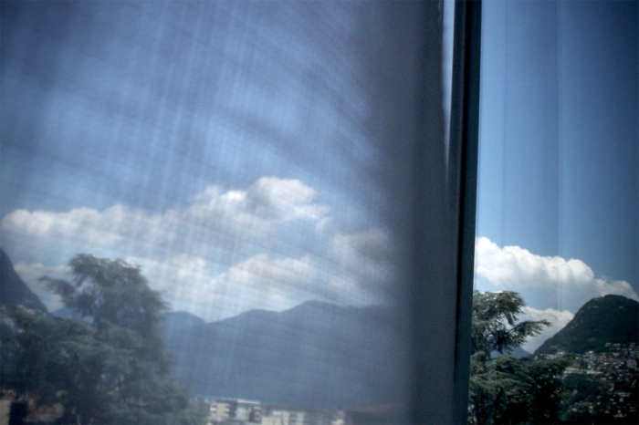 Out The Window in Lugano, Switzerland